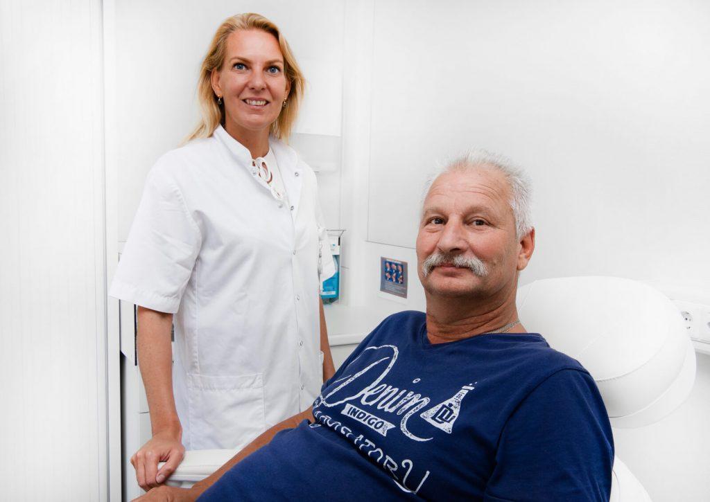 arts en client Estetisch Centrum Jan van goyen