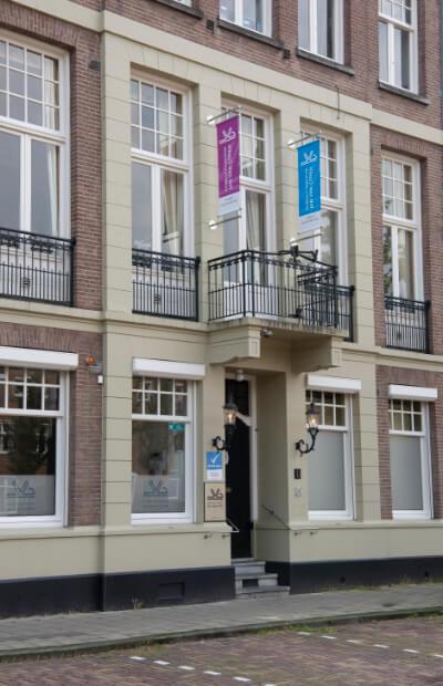 Entrance to the aesthetic center jan van goyen