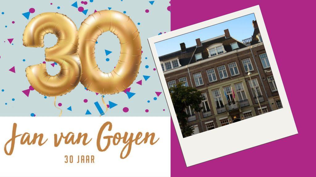 Jan van Goyen 30 jaar